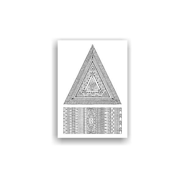 Obraz do kolorowania 30, 70x50 cm
