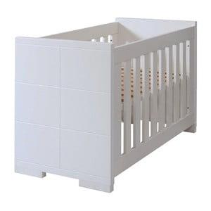Białe łóżeczko dziecięce Núvol Blanca, 60x120cm
