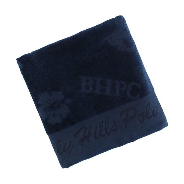 Ręcznik bawełniany BHPC Velvet 50x100 cm, granatowy