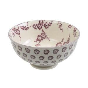 Porcelanowa miska Rice Purple, 12x5,6 cm