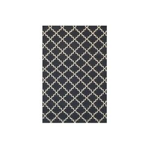 Dywan wełniany Eugenie Dark Grey, 200x140 cm