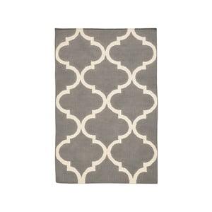 Ręcznie tkany dywan Caroline Grey, 120x180 cm