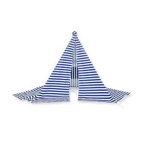 Namiot chroniący przed wiatrem Wind Banner Blue Stripes