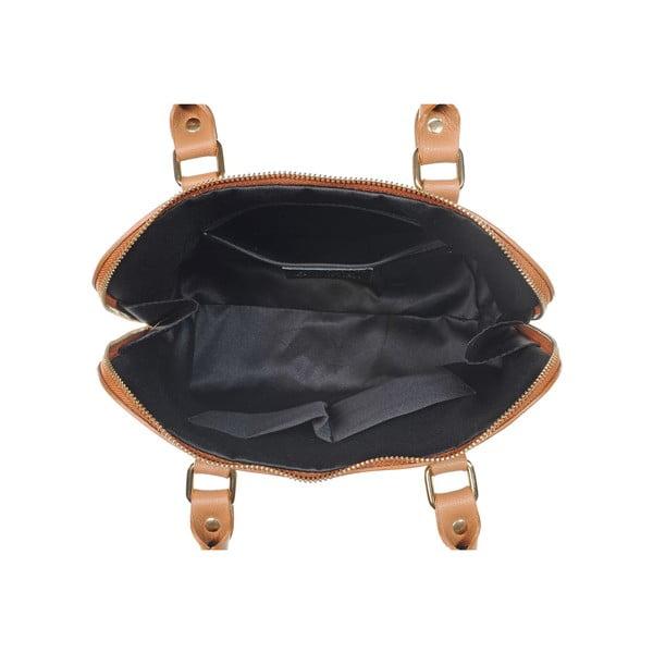 Skórzana torebka Fan Bag Chocolate