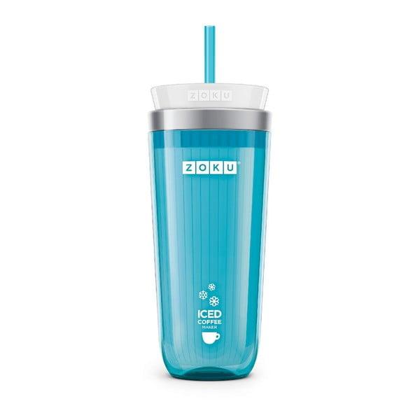 Niebieski kubek do kawy mrożonej Zoku Iced Coffee
