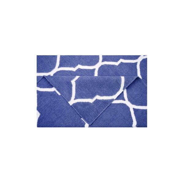 Ręcznie tkany dywan Caroline Dark Blue, 155x240 cm