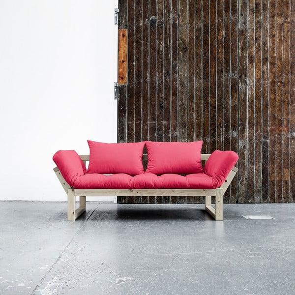 Sofa Karup Edge Natural/Magenta