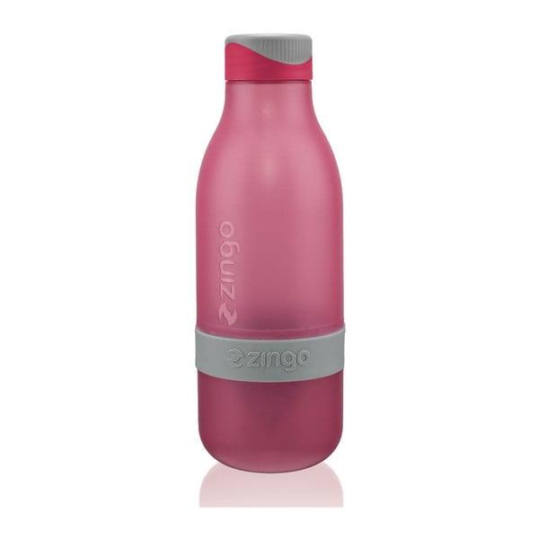 Butelka na wodę z cytryną Zingo Pink