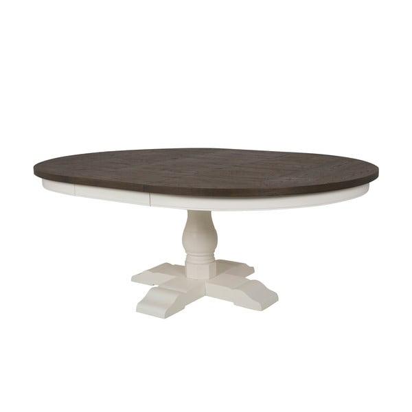 Biały rozkładany stół do jadalni Canett Skagen Dining,