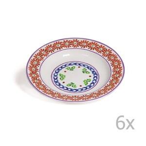 Zestaw 6 głębokich talerzy Toscana Cortona, 22.5 cm