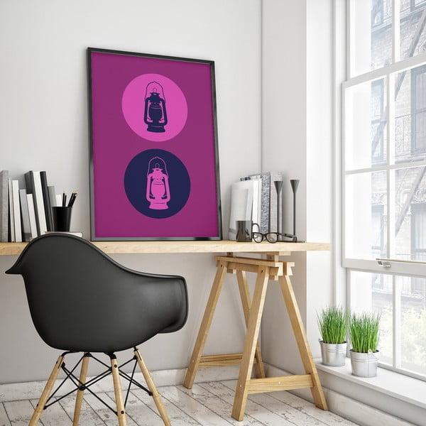 Plakat Lampa naftowa, duży