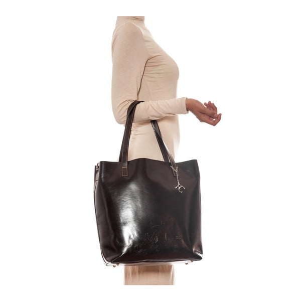 Skórzana torebka Renata Corsi 3001 Testa