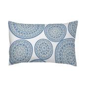 Poszewka na poduszkę Circle Azul, 50x70 cm