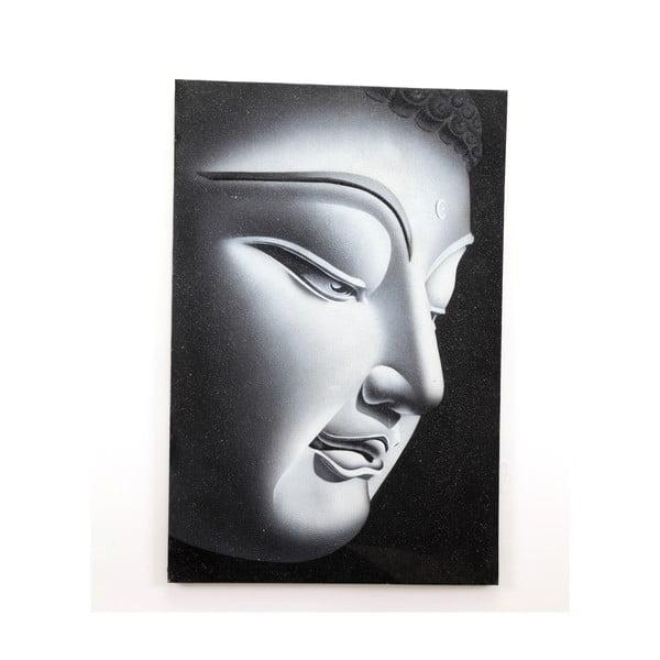 Obraz na drewnie Left Buddha, 60x90 cm