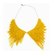 Naszyjnik Fringe, żółty