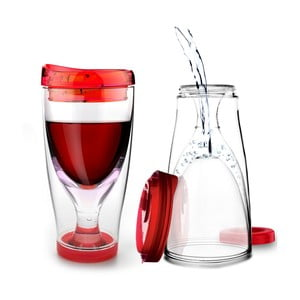 Termos Ice Vino 2GO, czerwony
