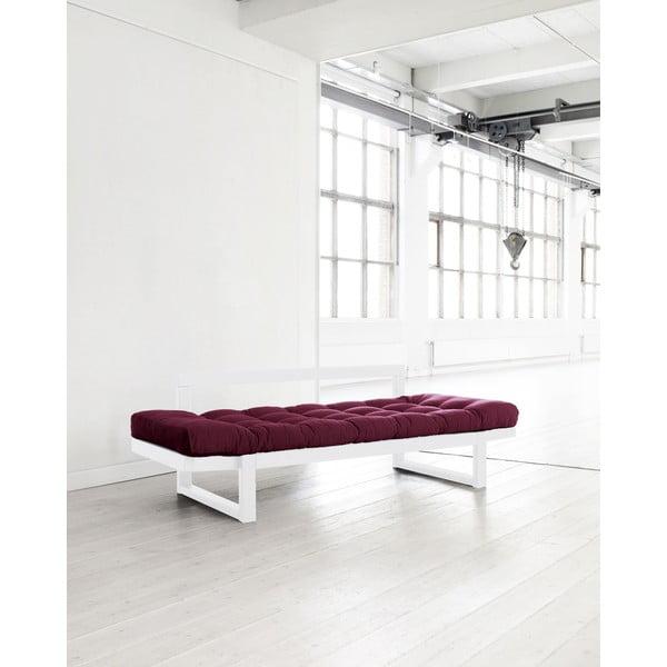 Sofa Karup Edge White/Bordeaux