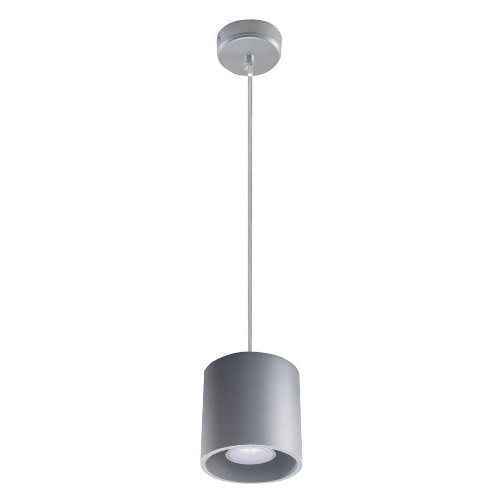 Szara lampa wisząca Nice Lamps Roda