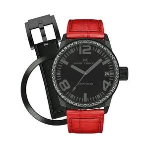 Zegarek damski Marc Coblen z dodatkowym paskiem i obręczą P53