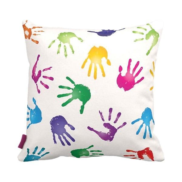 Poduszka Hands, 43x43 cm
