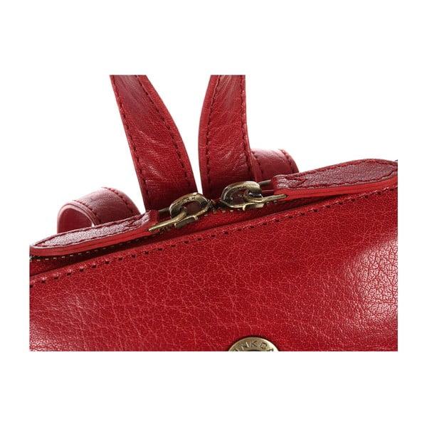 Plecak skórzany Florence Cranberry