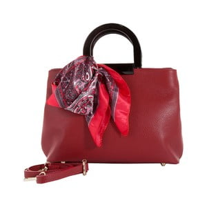 Czerwona torebka skórzana Andrea Cardone Angelo