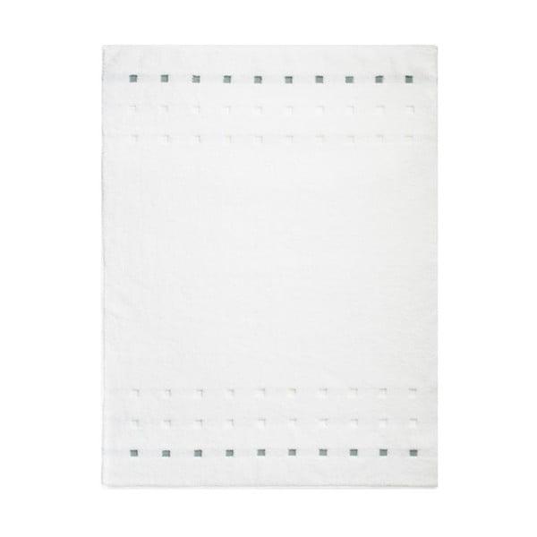 Dywanik łazienkowy Quatro White, 75x100 cm
