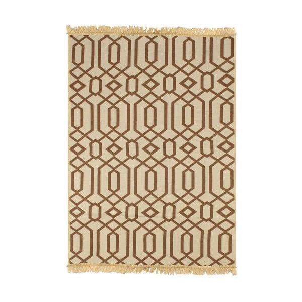 Beżowy dywan Ya Rugs Kenar, 60x90cm