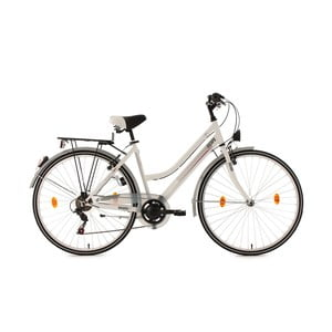 Damski rower City Bike Encanto White, 28""