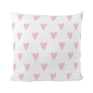 Poduszka   Pink Hearts, 50x50 cm