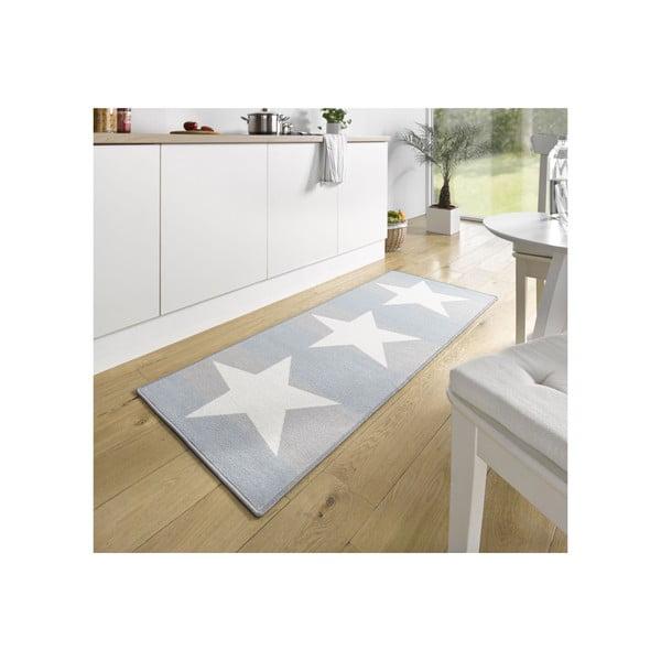 Niebiesko-szary chodnik do kuchni Zala Living Chateau, 67x180 cm