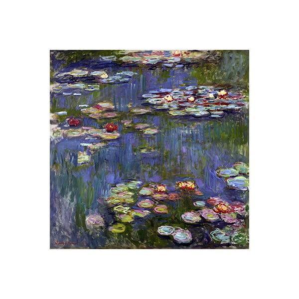 Reprodukcja obrazu Claude'a Moneta – Water Lilies 3, 70x70 cm