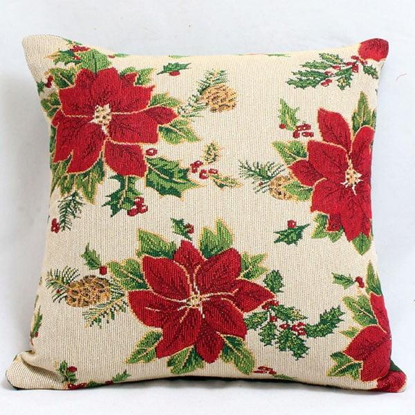 Poszewka na poduszkę Kwiaty, 40x40 cm