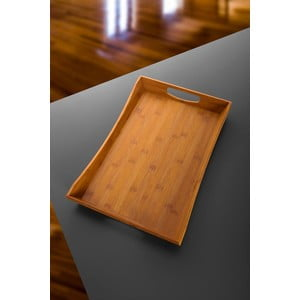 Bambusowa taca Favoritte, 43x27 cm
