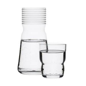 Karafka   ze szklanką Sagaform, 1 l