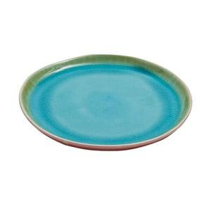 Ceramiczny talerz Prego Plain Azur, 20 cm
