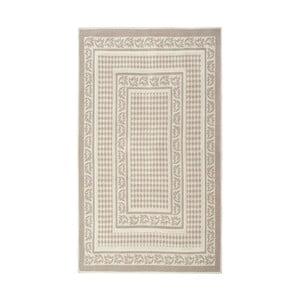 Kremowy dywan bawełniany Floorist Regi, 100x200cm