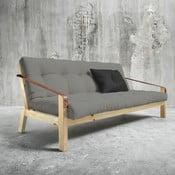 Sofa rozkładana Karup Poetry Natural/Granite Grey/Dark Grey
