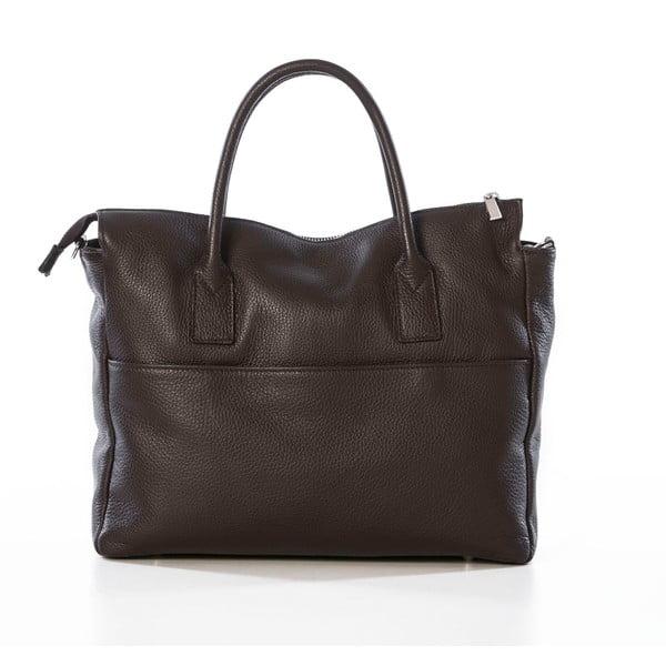 Skórzana torebka Grana Dark Brown
