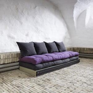 Sofa wielofunkcyjna Karup Chico Gray/Purple