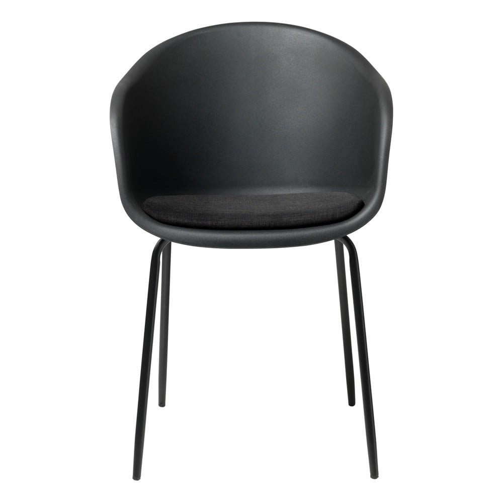 Czarne krzesło Unique Furniture Topley
