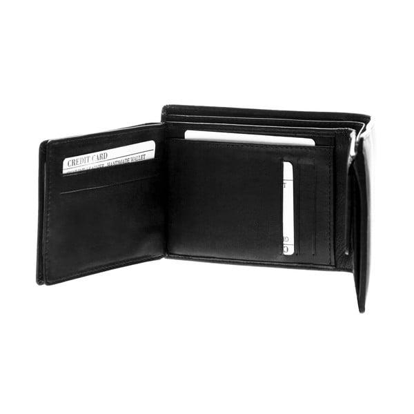 Skórzany portfel Continuum 1505, podwójne szycie