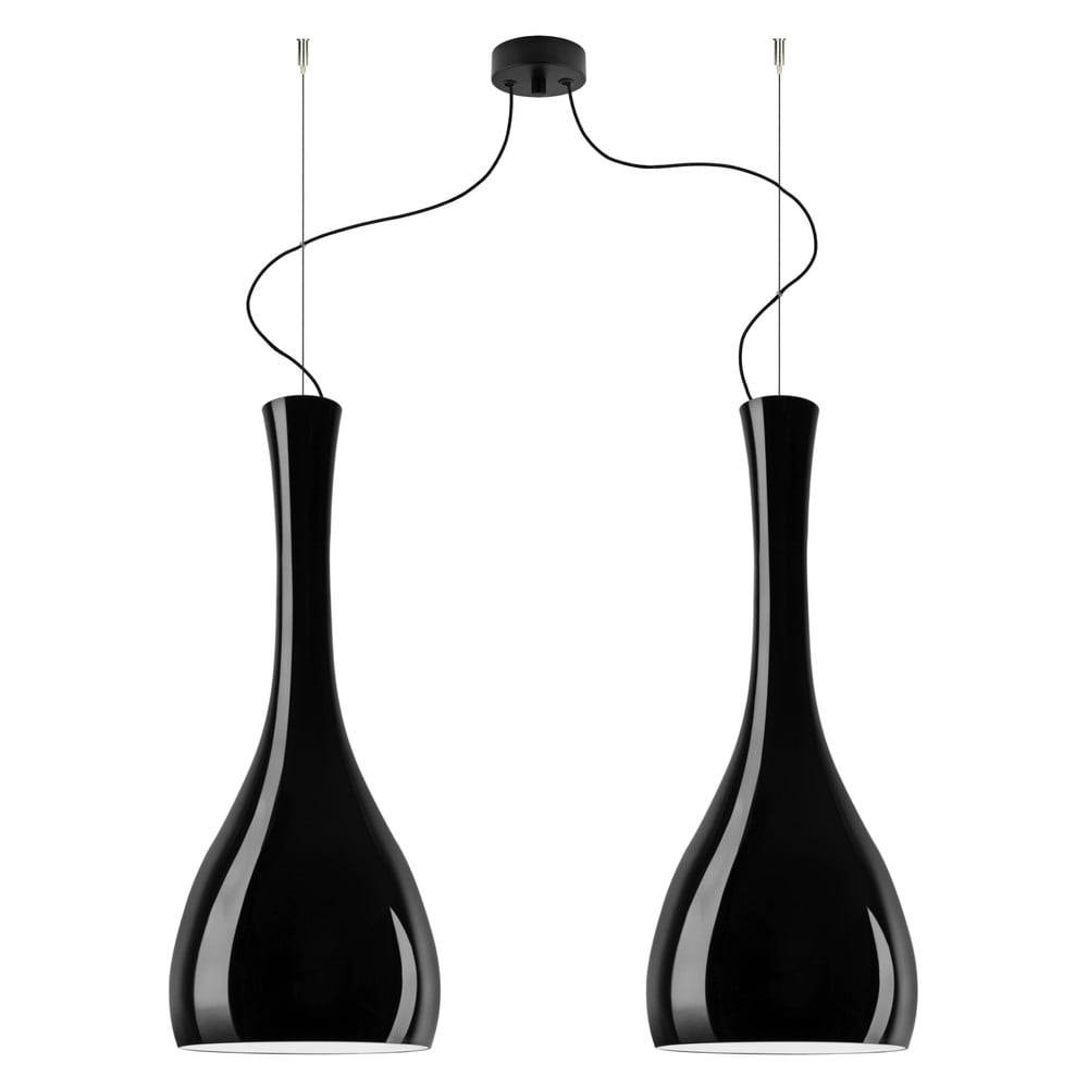 Lampa podwójna ITTEKI Elementary black glossy/black /black