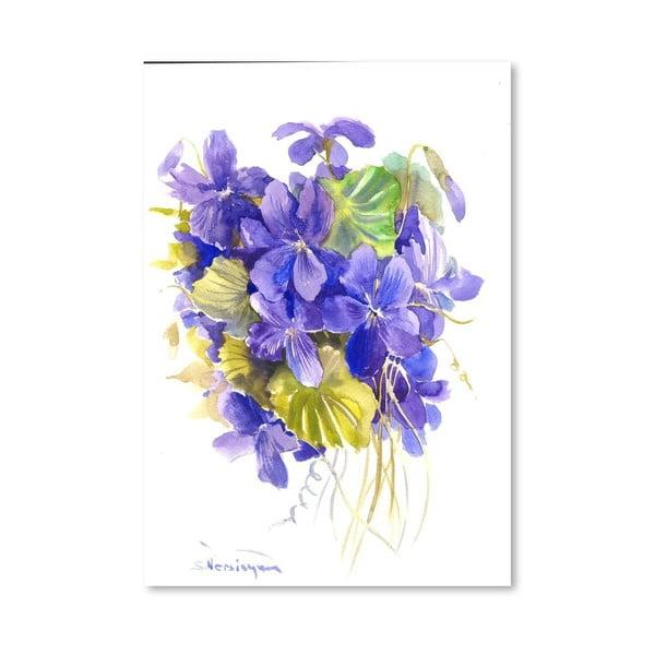 Plakat Violets (projekt Suren Nersisyan)