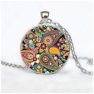 Damski łańcuszek z wisiorkiem Butoni de Camasa Hippe Ornaments Two