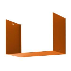 Półka Geometric Two, pomarańczowa