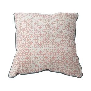 Różowa poduszka Mauro Ferretti Argentina, 40x40cm
