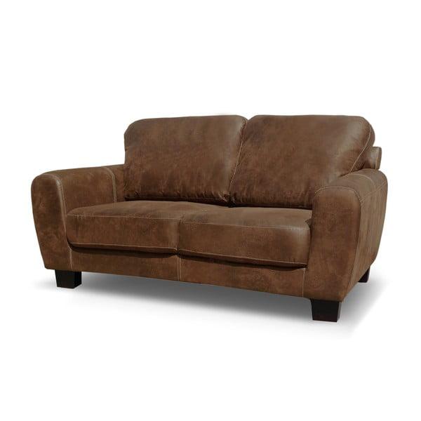 Jasnobrązowa sofa dwuosobowa Rodier Tweed