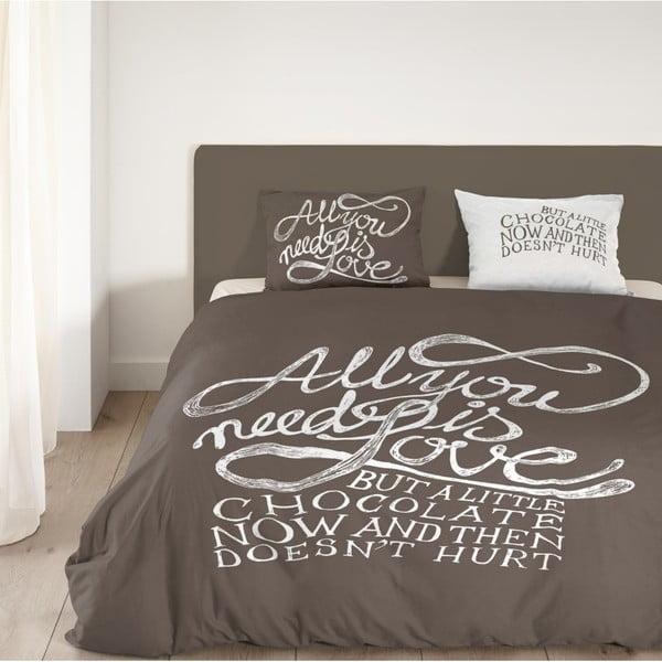Pościel Muller Textiel Chocolate Love , 200x200 cm