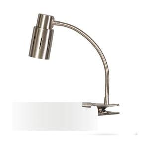 Lampa stołowa do zaczepienia w srebrnym kolorze ETH Sava